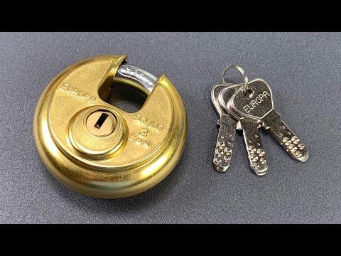 "Xxx Mp4 923 ""Unpickable"" Europa Disc Padlock Picked FAST Model P 370 3gp Sex"