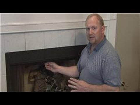 Basic Home Improvements : How Do You Open a Fireplace Damper?