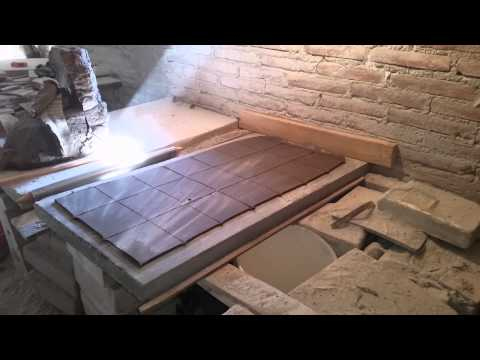 How to make Mexican tiles.