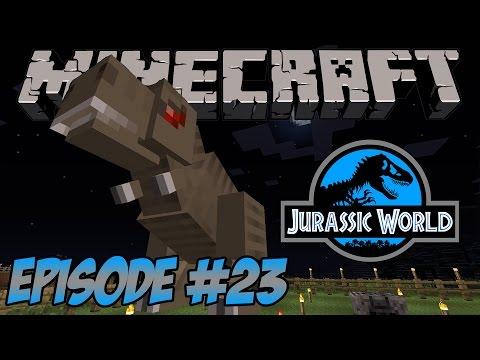 Making An Excavator - Minecraft Jurassic World - Episode 23