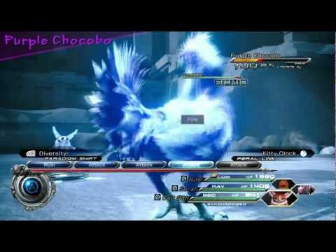 Final Fantasy XIII-2 -- Catching Chocobos