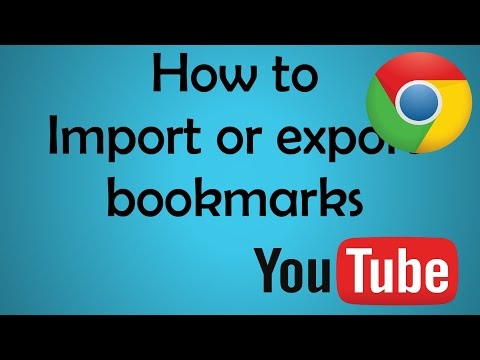 How to Backup & Restore Bookmarks in Google Chrome