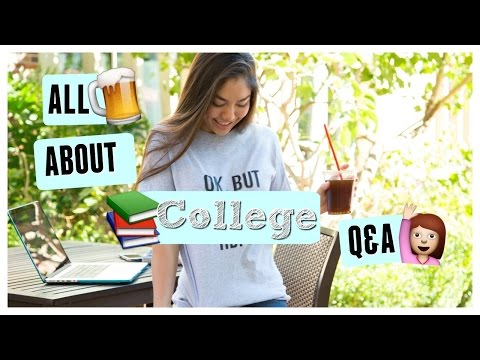 ALL ABOUT COLLEGE! Grades, parties, making friends, advice & more!