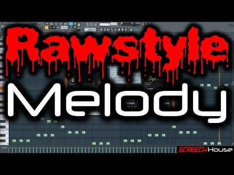 RAWSTYLE MELODY TUTORIAL   How to Make Rawstyle Melody FL Studio   Melodic Rawstyle (Raw Hardstyle)