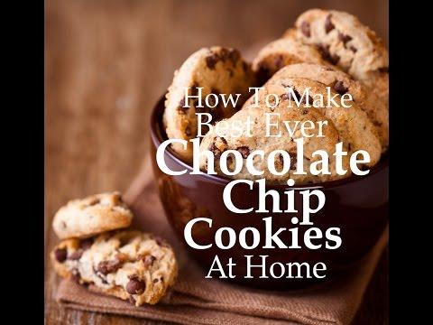 How to make Chocolate Chip Cookies | Best Cookies At Home | Choco Chip Cookie Recipe!