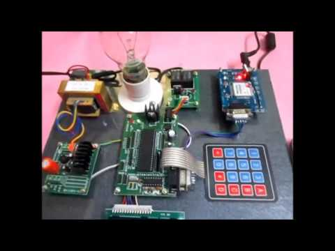 Password Based Circuit Breaker with SMS.