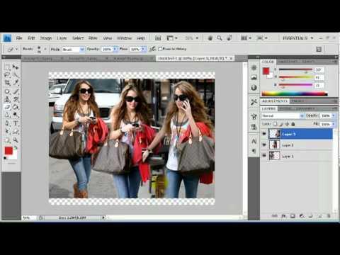 Adobe Photoshop Cs4 Picture Blending