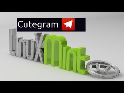 Install Cutegram (Telegram Application) in Linux Mint via PPA