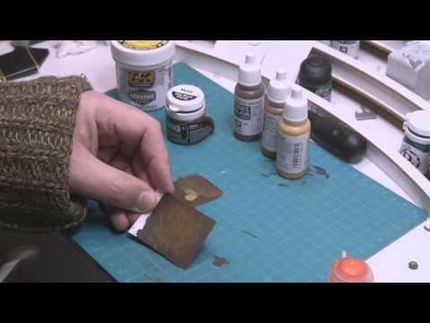 Weathering models 02: Painting rust