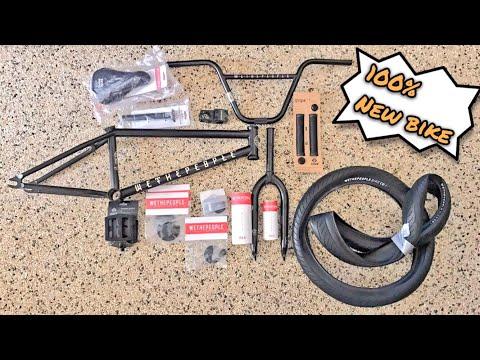 BUILDING A BRAND NEW BMX BIKE - REAGAN RILEY SPONSOR REVEAL!