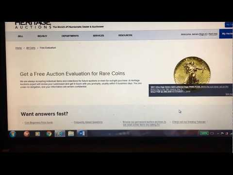 FREE PROFESSIONAL APPRAISALS OF YOUR COINS & HOW TO SELL THEM