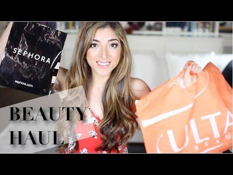 Sephora, Ulta & Drugstore Haul! | Amelia Liana