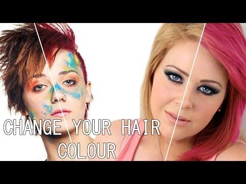 Photoshop cs6 Changing Hair Colour