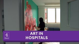 The mental health units being transformed by art