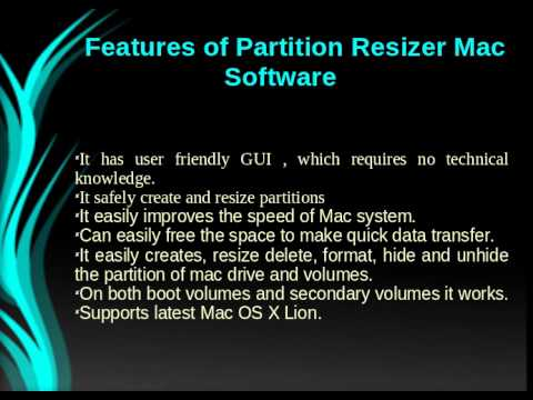 Partition Resizer Mac Software Review