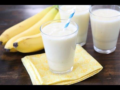 Banana Shake - MilkShake Recipe in Hindi - How to Make Banana Milk Shake at home - BANANA SMOOTHIE