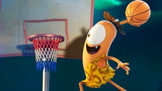 Funny Animated Cartoon   Spookiz   Greatest Dunk Competition EVER!   스푸키즈   Cartoon For Children