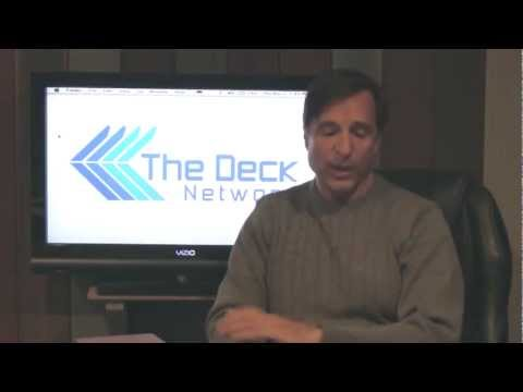Various Types of Decking on The Deck Network