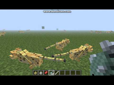 How to tame ocelots/wolfs and breed them in minecraft