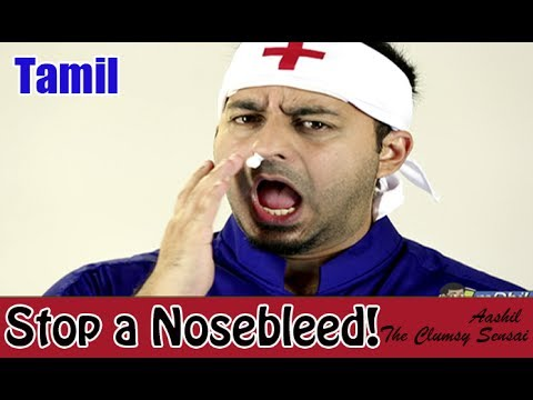 How to Treat a Bleeding Nose - Tamil
