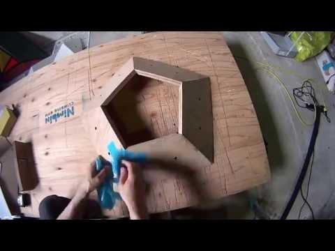 Making Pentagon Wooden Volume