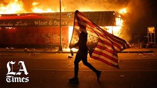 Twitter flags Trump's tweet as 'glorifying violence'
