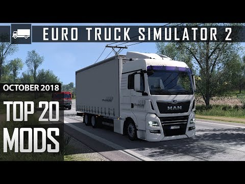 Download Top 20 Mods for Euro Truck Simulator 2 1 32