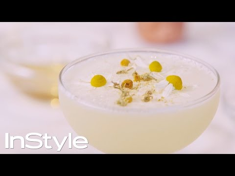 Cocktail Recipe: Chamomile Gin Sour | InStyle