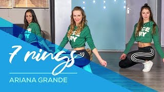 7 Rings - Ariana Grande - Easy Fitness Dance Video - Choreography