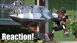 Kingdom Hearts 3 D23 Toy Story Trailer Reaction