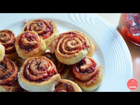 Strawberry Rolls │Episode 095│ I'll Eat For Food