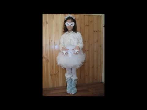DIY -How to make a snowflake costume
