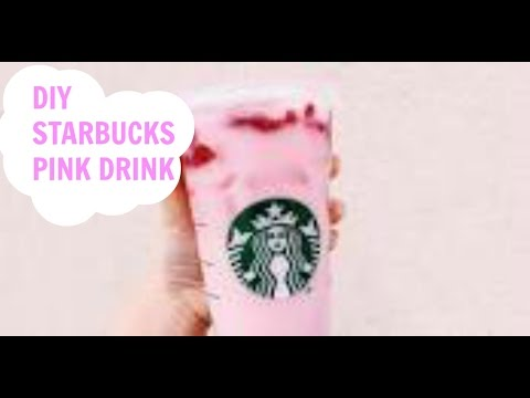How To Make Pink Drink At Home-Video