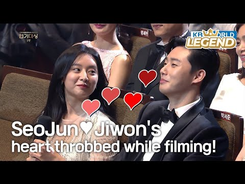 'Fight For My Way' SeoJun♥Jiwon's heart throbbed while filming! [2017 KBS Drama Awards/2018.01.07]