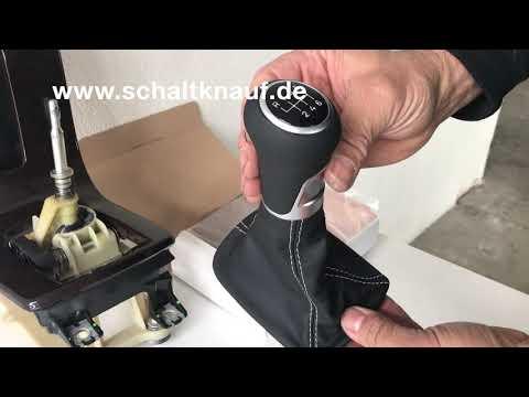 ICT Schaltknauf einbau Volvo C30 S40 V50 gear knob remove change
