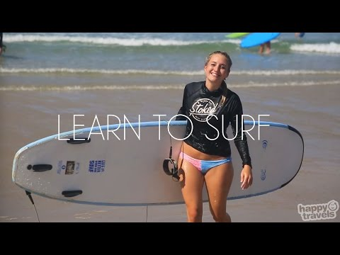Learning To Surf In Byron Bay, Australia With Stoked Surf School