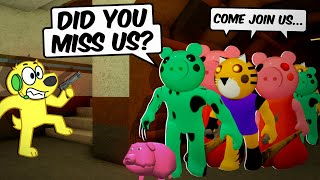 PEPPA INFECTION! Roblox PIGGY Funny Moments 4