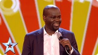 Daliso Chaponda gives us the Grand Final giggles | Grand Final | Britain's Got Talent 2017