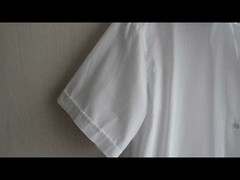 How To Shorten Sleeves On A Shirt - DIY Style Tutorial - Guidecentral