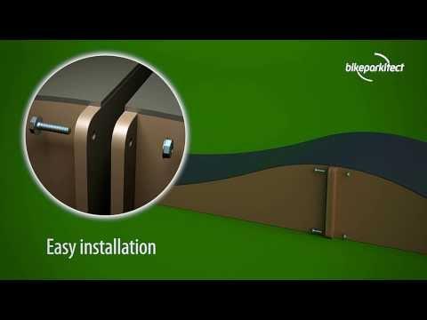 Bikeparkitect Modular Pumptrack Animation