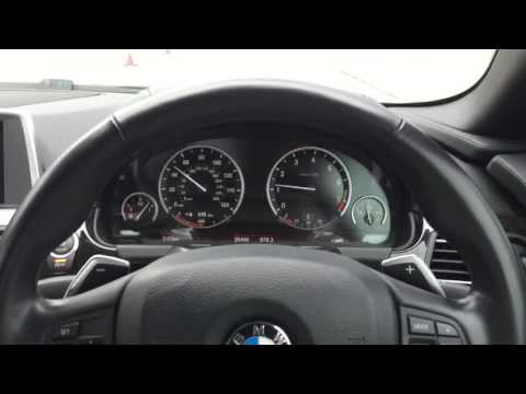 BMW speedometer color change