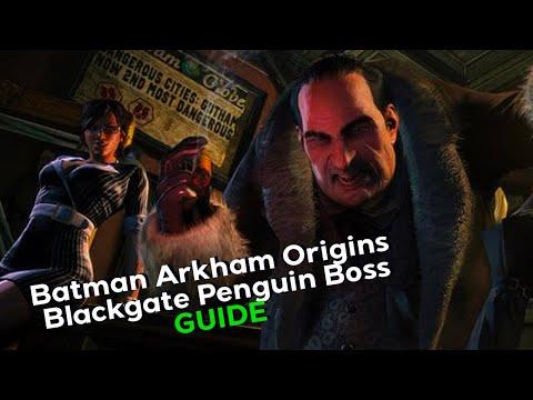 Batman Arkham Origins Blackgate Penguin Boss Fight