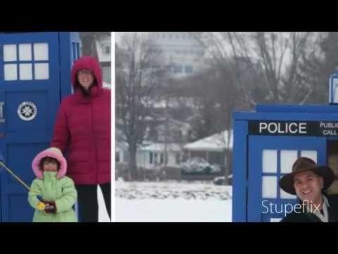 Ice Shanty TARDIS!