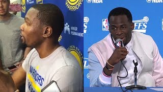 "Kevin Durant IMPERSONATES LaVar Ball, Draymond Green Calls ""Bullsh*t"" on Klay Thompson All-NBA Snub"