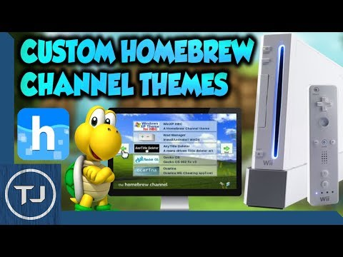 Wii How To Install Custom Homebrew Channel Themes!