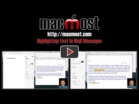 Highlighting Text In Mail Messages (#1421)
