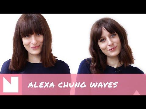 NSMBL Hair Tutorial: zo maak je zelf de ultieme waves à la Alexa Chung