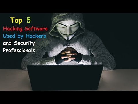 Top 5 Hacking Software Used by Hackers and Security Professionals.