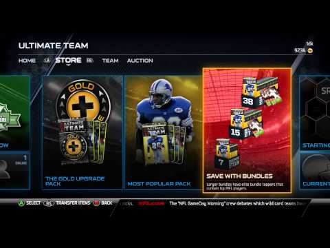 Madden 16 Ultimate Team How to Get Better Players In Packs(Pack Strategy)