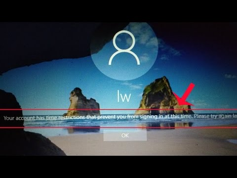 How to set time limits for any user account on Windows 10 without any Software [Tut]